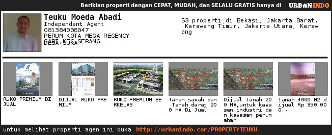 Agen Teuku Moeda Abadi: UrbanIndo.com Website Property dengan Tampilan Elegan dan Mudah Digunakan