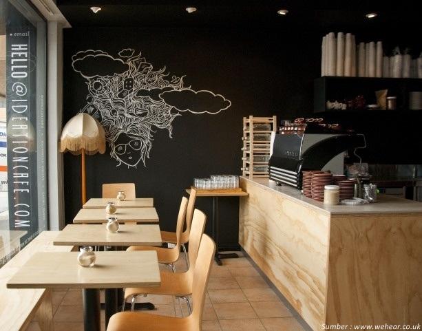 Mural pada cafe kopi urbanindo rumah dijual disewakan for Mural untuk cafe