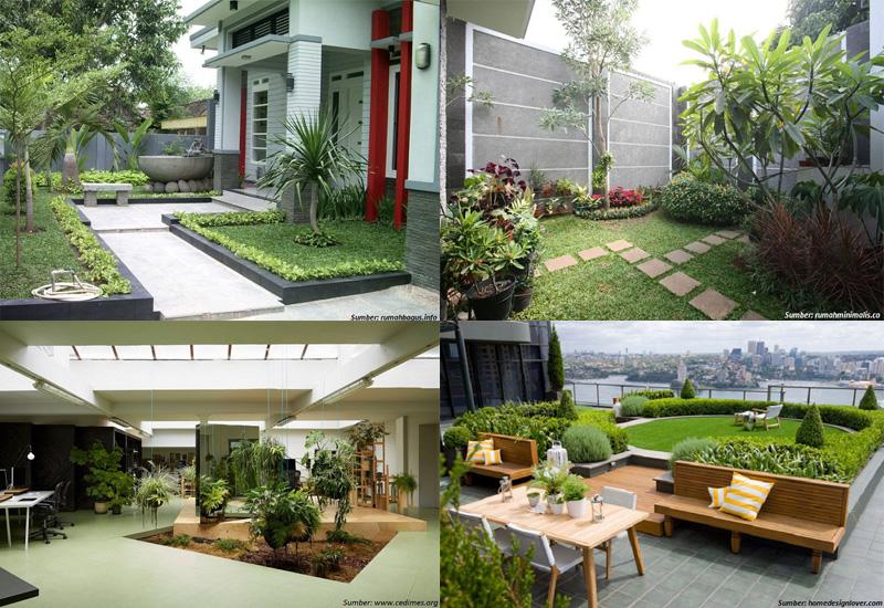 Inspirasi Taman Minimalis di Berbagai Sudut Rumah