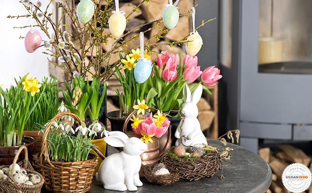 Sambut Hari Paskah di Rumah dengan Pajangan Telur Cantik, Ini Tips Menghiasnya