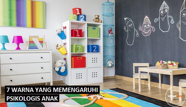 WOW! 7 Warna Ini Bisa Pengaruhi Psikologis Anak di Rumah