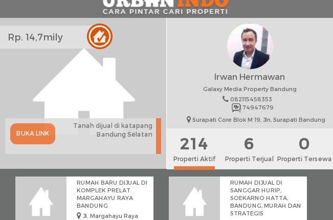 Irwan: Analisis Wilayah UrbanIndo, Panduan Saya Menentukan Market