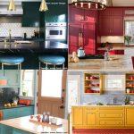 Dapur Tampil Beda dengan Pilihan Warna Batu Permata