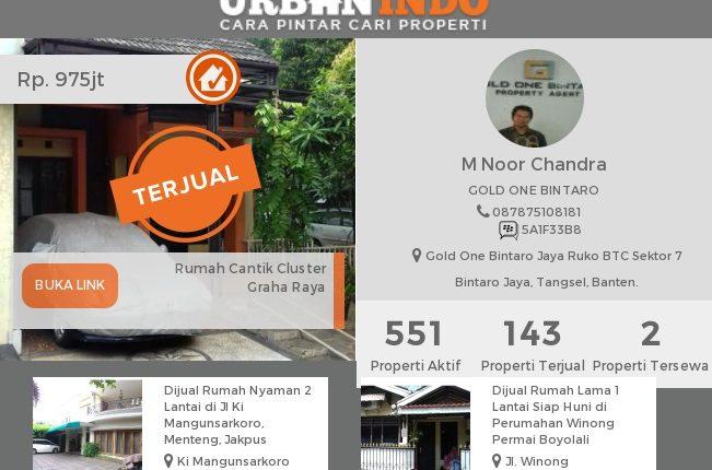 M. Noor: Kerap Ditantang Klien untuk Menjual Rumah dengan Cepat. Hasilnya…