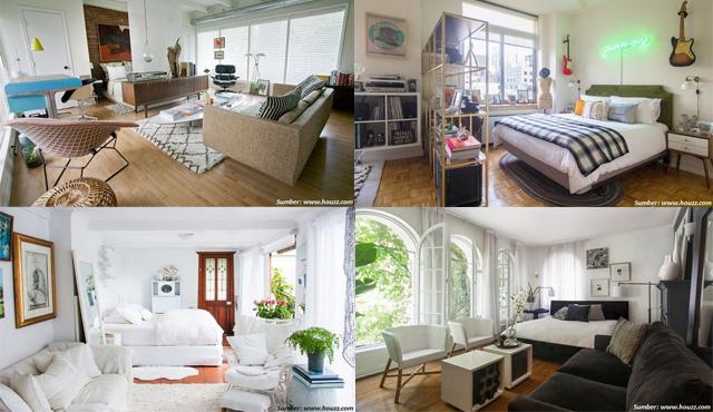 Tinggal Di Apartemen Studio Begini Saat Kamar Dan Ruang Tamu