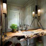 Unik, Deh! Meja Wastafel Kamar Mandi Ini Dibuat dari Barang Daur Ulang
