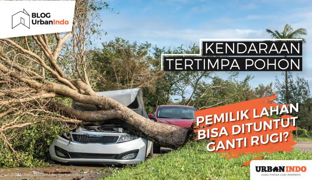 Kendaraan Tertimpa Pohon, Pemilik Lahan Bisa Dituntut Ganti Rugi?