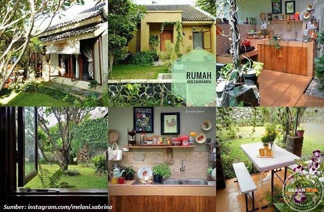 Omah Ndeso, Rumah Berkonsep Tropis Etnik Ala Melani Sabrina