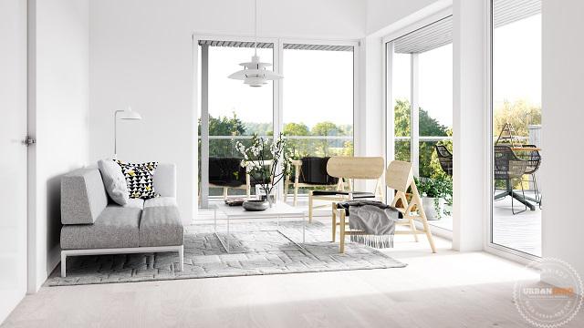 850 Gambar Rumah Dengan Warna Putih HD