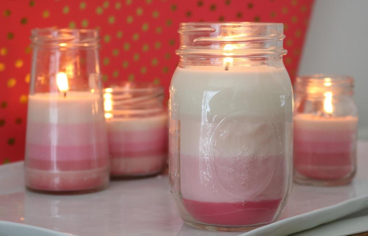 Lilin Ombre, Ciptakan Suasana Romantis Saat Valentine di Rumah