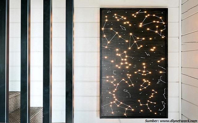 WOW! Kini Kita Bisa Hadirkan Rasi Bintang di Dinding Rumah