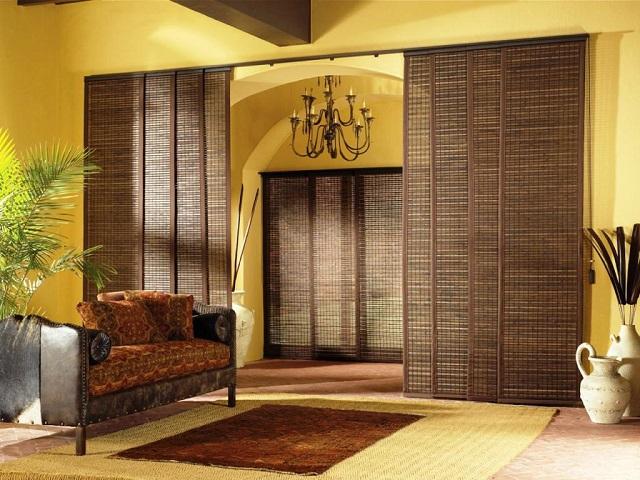 Ruangan Polos Tampak Makin Unik & Natural Berkat Kehadiran Dekorasi dari Bambu