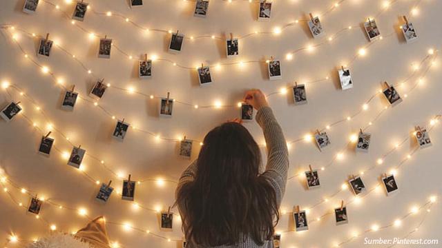 Foto Polaroid Jadi Dekorasi Rumah Bisa Banget Begini Caranya