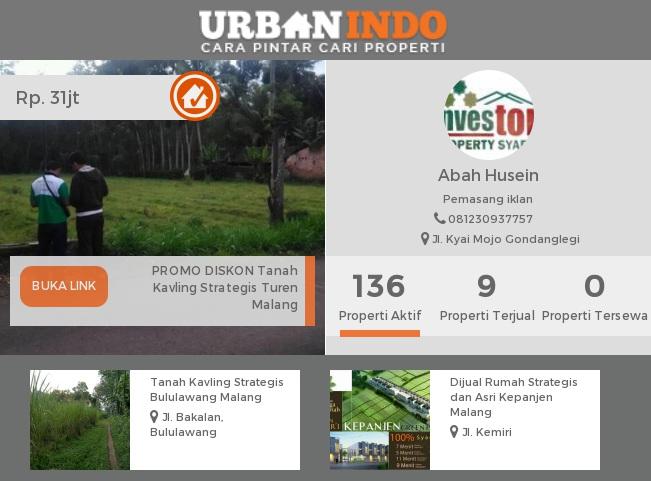 Husein: Jual Properti Berbasis Syariah, Tanpa Bank dan Bunga