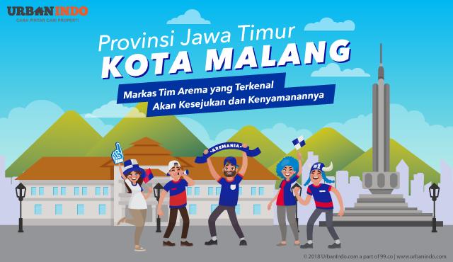 Malang, Kota Nyaman & Sejuk di Timur Jawa dengan Segudang Stok Rumah Murah