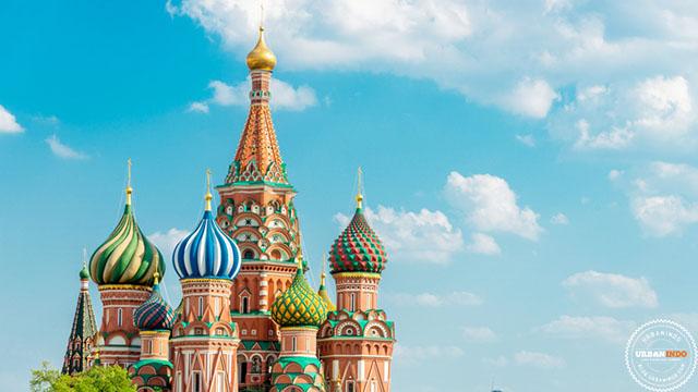 Sambut Piala Dunia 2018, Ini 7 Bangunan Unik di Rusia
