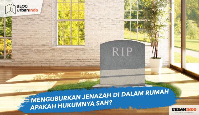 menguburkan jenazah