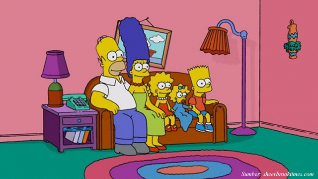 Interior Ruang Keluarga Unik Ala Serial The Simpsons, Cocok Buat Inspirasi!