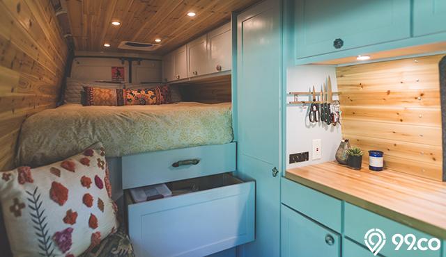 5 Model Tempat Tidur Hemat Tempat untuk Ruangan Mungil