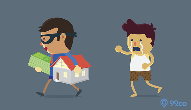 penipuan rumah